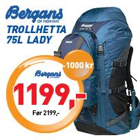 Bergans, Trollhetta 75l Lady
